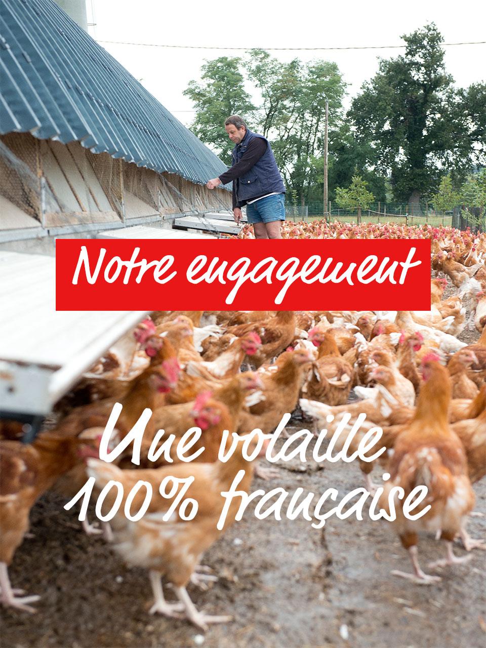 Les engagements d'Allier volailles volailler en Auvergne depuis 1894