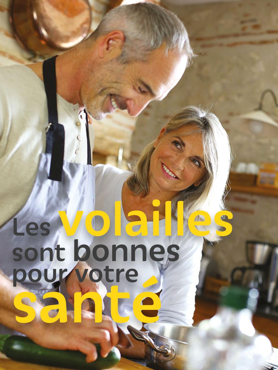 Volailles Fermières d'Auvergne bonnes pour la santé