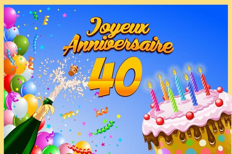 Joyeux Anniversaire 40ans Allier Volailles